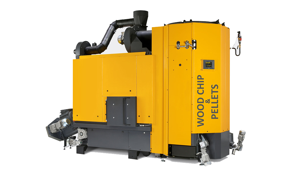 biomass boiler for large district heating network