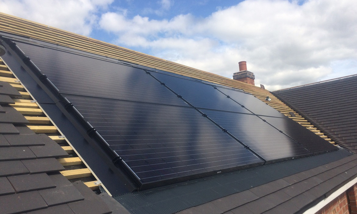 flush fitting solar panels yorkshire